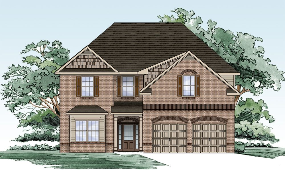 Single Family for Active at The Park At Westridge - The Tuscany 2405 Braelin Loop Mc Donough, Georgia 30253 United States