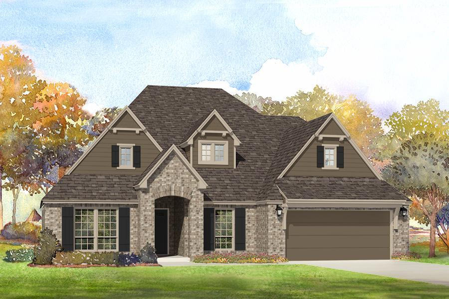 Single Family for Sale at Providence Hills - Isabella 13110 S. 20th St. Bixby, Oklahoma 74008 United States