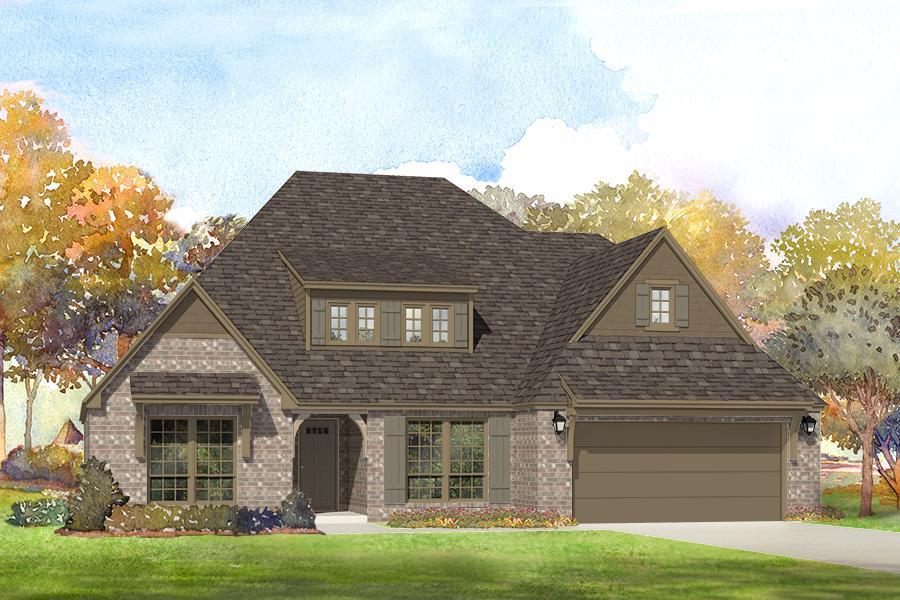 Single Family for Sale at Breitling Village - Isabella 11112 South Cleveland St. Jenks, Oklahoma 74037 United States