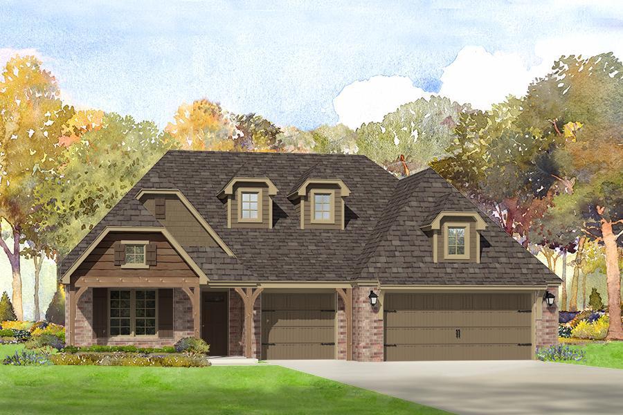 Single Family for Sale at Breitling Village - Mason 11112 South Cleveland St. Jenks, Oklahoma 74037 United States