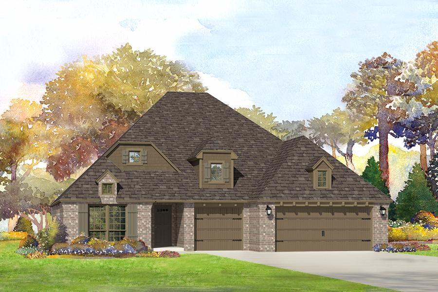 Single Family for Sale at Breitling Village - Cadence 11112 South Cleveland St. Jenks, Oklahoma 74037 United States