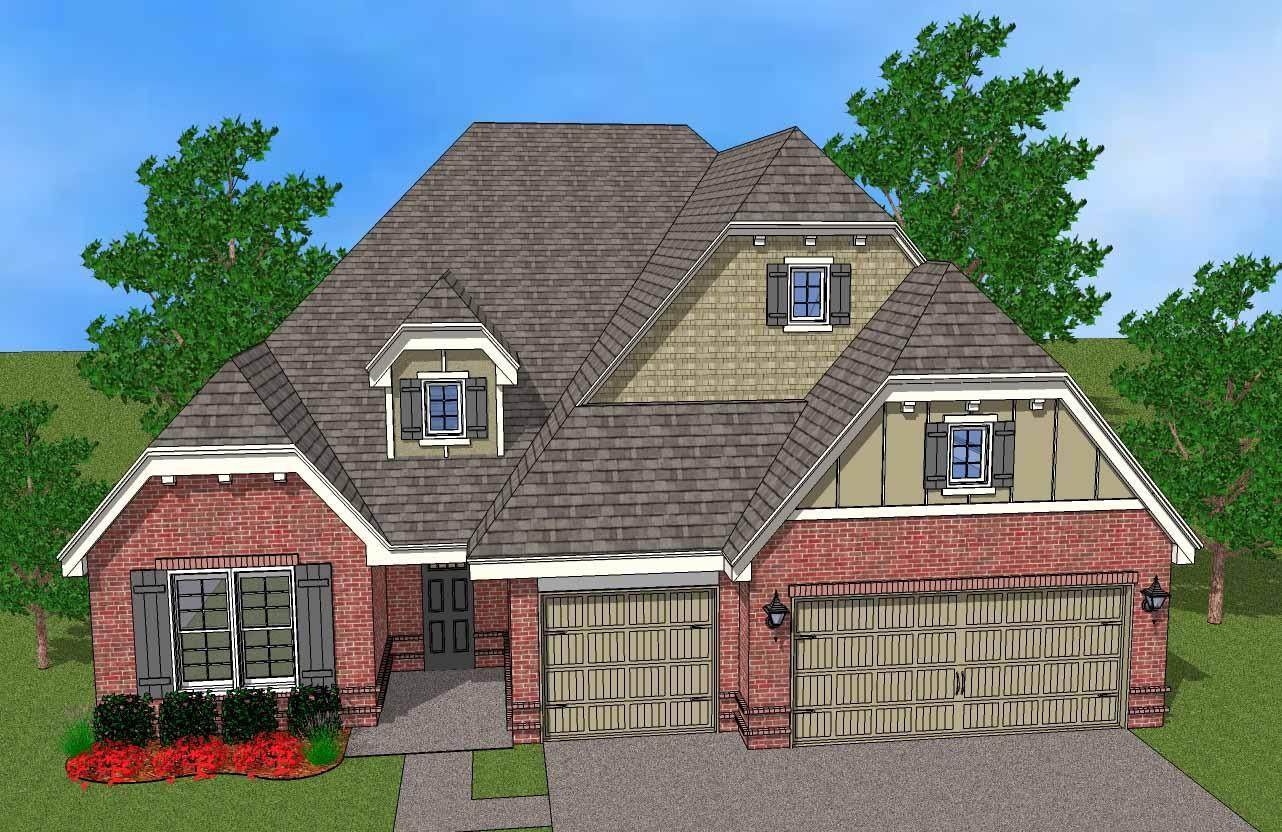 Single Family for Sale at Breitling Village - Logan 11112 South Cleveland St. Jenks, Oklahoma 74037 United States