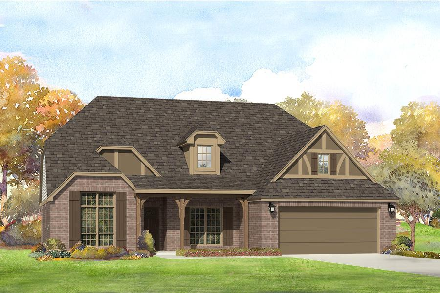 Single Family for Sale at Providence Hills - Cody 13110 S. 20th St. Bixby, Oklahoma 74008 United States