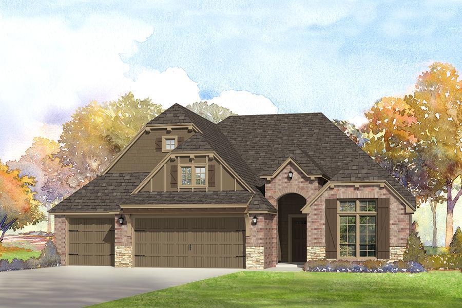 Single Family for Sale at Breitling Village - Sullivan 11112 South Cleveland St. Jenks, Oklahoma 74037 United States