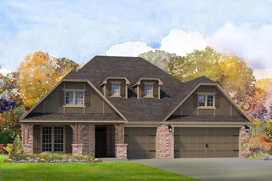 Single Family for Sale at Vintage Oaks - Kingston 6407 E. 88th St. N. Owasso, Oklahoma 74055 United States