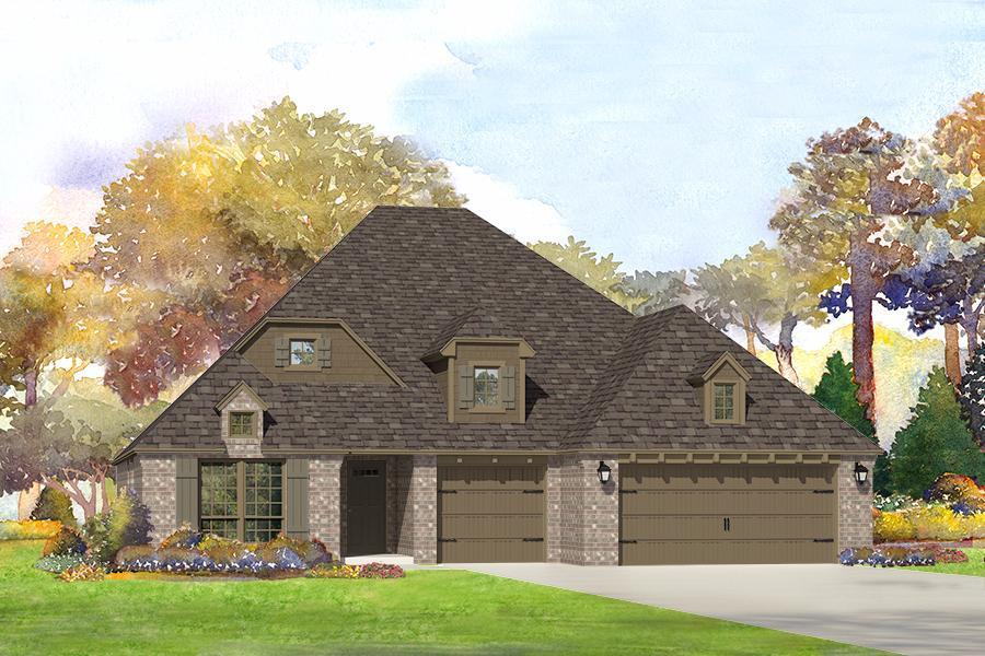 Single Family for Sale at Vintage Oaks - Cadence 6407 E. 88th St. N. Owasso, Oklahoma 74055 United States