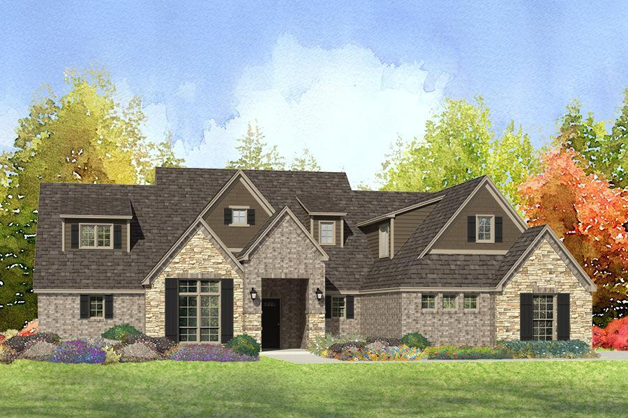 Single Family for Sale at Quailbrook Estates - Reede 16505 E. 115th St N Owasso, Oklahoma 74055 United States
