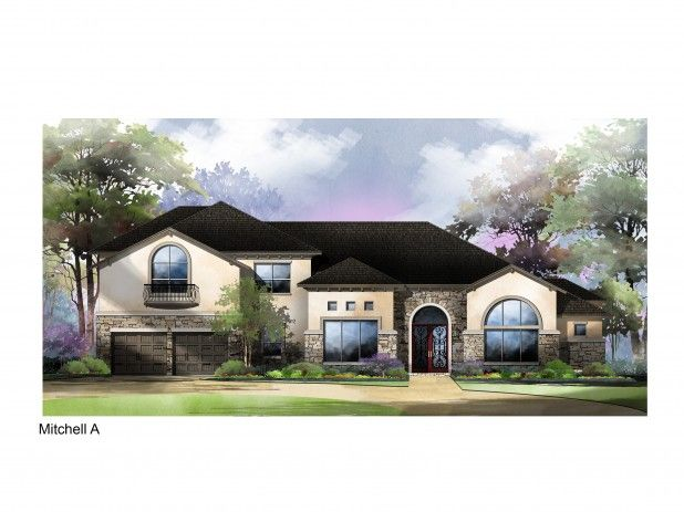 Single Family for Sale at The Overlook At Stonewall Estates - Mitchell 8122 Juliet Hill San Antonio, Texas 78256 United States