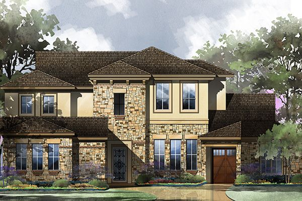 Single Family for Active at Serene Hills - Seville 406 Ringtail Stream Drive Lakeway, Texas 78738 United States