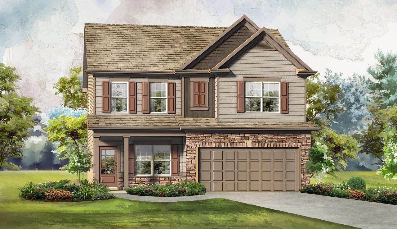 Single Family for Sale at Rainhill - The Cochran 48 Perimeter Rd Dawsonville, Georgia 30534 United States