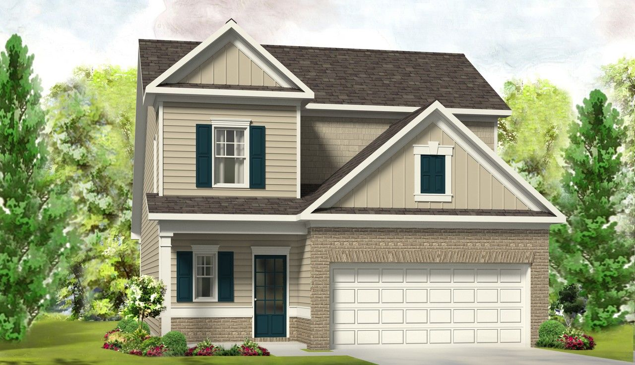 Single Family for Active at Nottingham - The Prestwick Gps: 415 Crusaders Drive Sanford, North Carolina 27330 United States