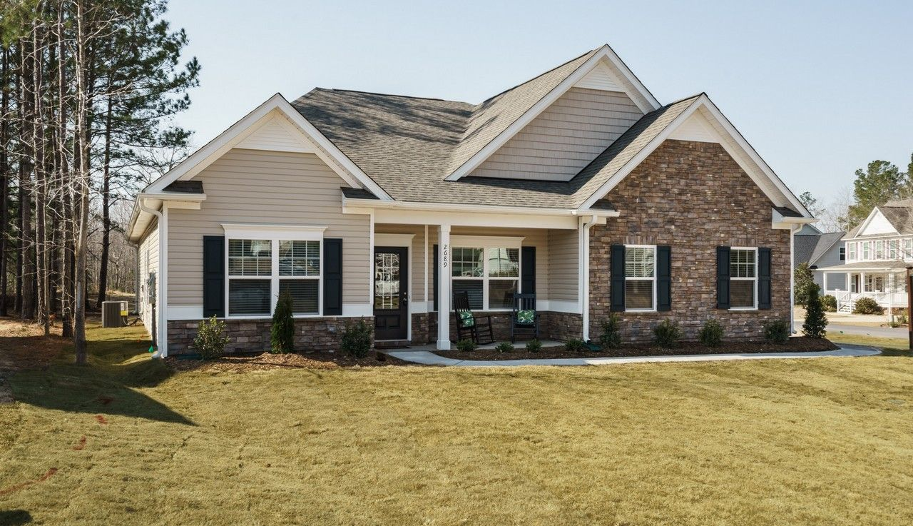 Single Family for Sale at The Buffington 114 Mill Run Lane Sanford, North Carolina 27330 United States