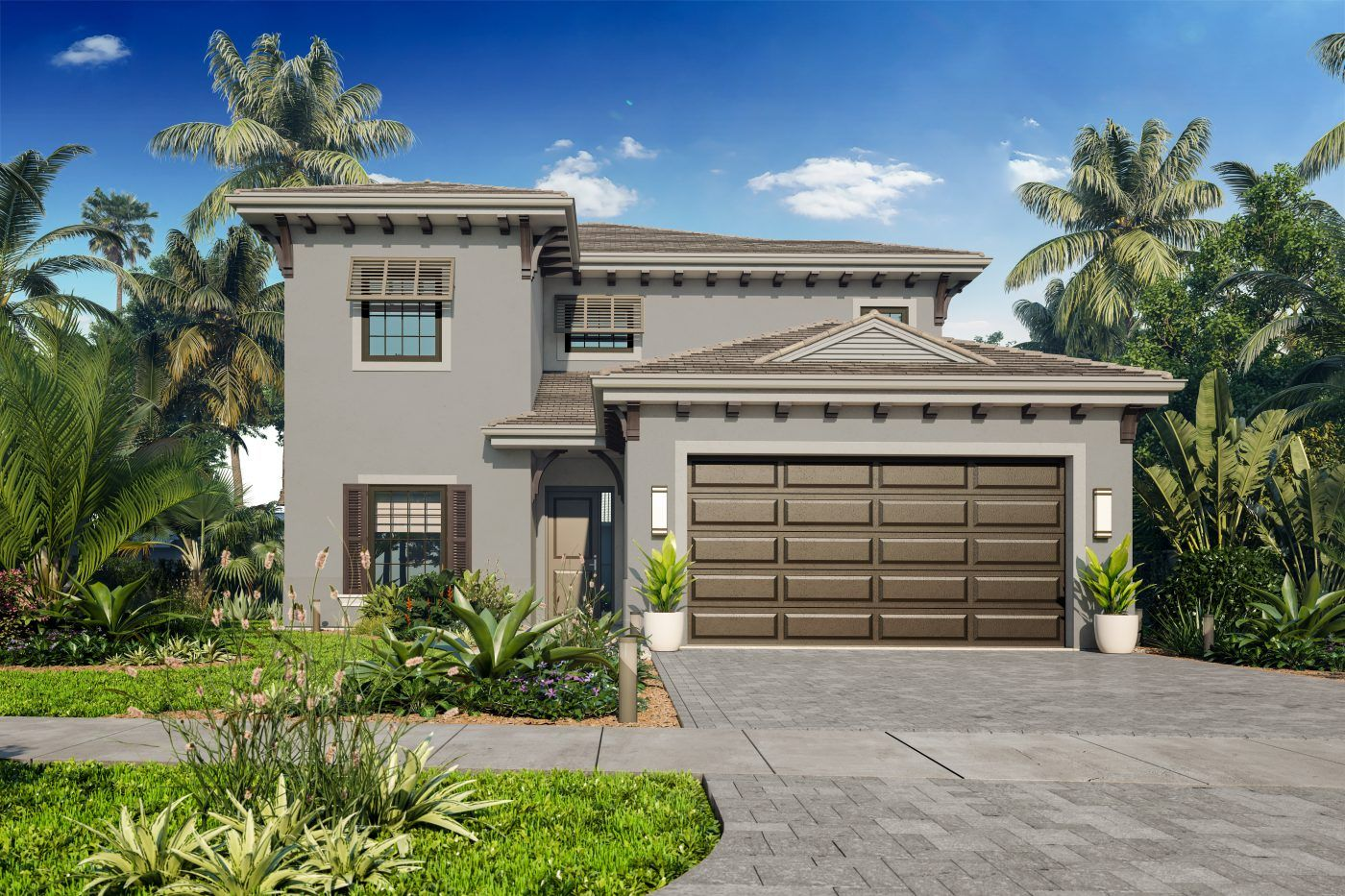 Single Family for Sale at Residences At Banyan Cay - Grenada 3089 Gin Berry Way West Palm Beach, Florida 33401 United States
