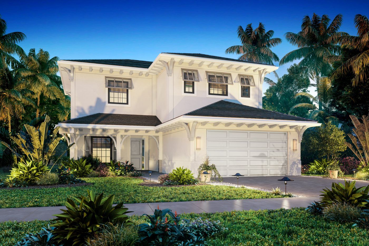 Single Family for Sale at Residences At Banyan Cay - Tortuga 3089 Gin Berry Way West Palm Beach, Florida 33401 United States