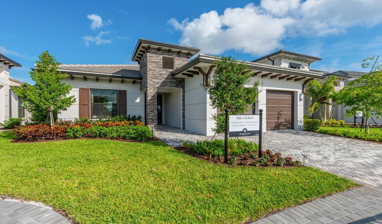Single Family for Active at Residences At Banyan Cay - Cayman 3089 Gin Berry Way West Palm Beach, Florida 33401 United States
