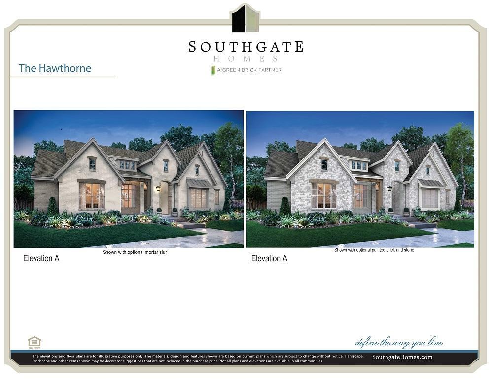 Single Family for Active at Brockdale Estates - The Hawthorne 410 Lakeshore Blvd Lucas, Texas 75002 United States