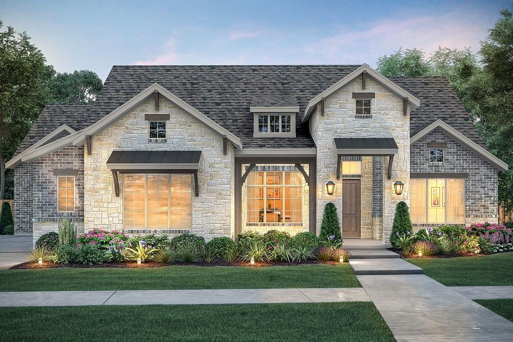 Single Family for Active at The Fredericksburg 2118 Glenbrook Haslet, Texas 76052 United States