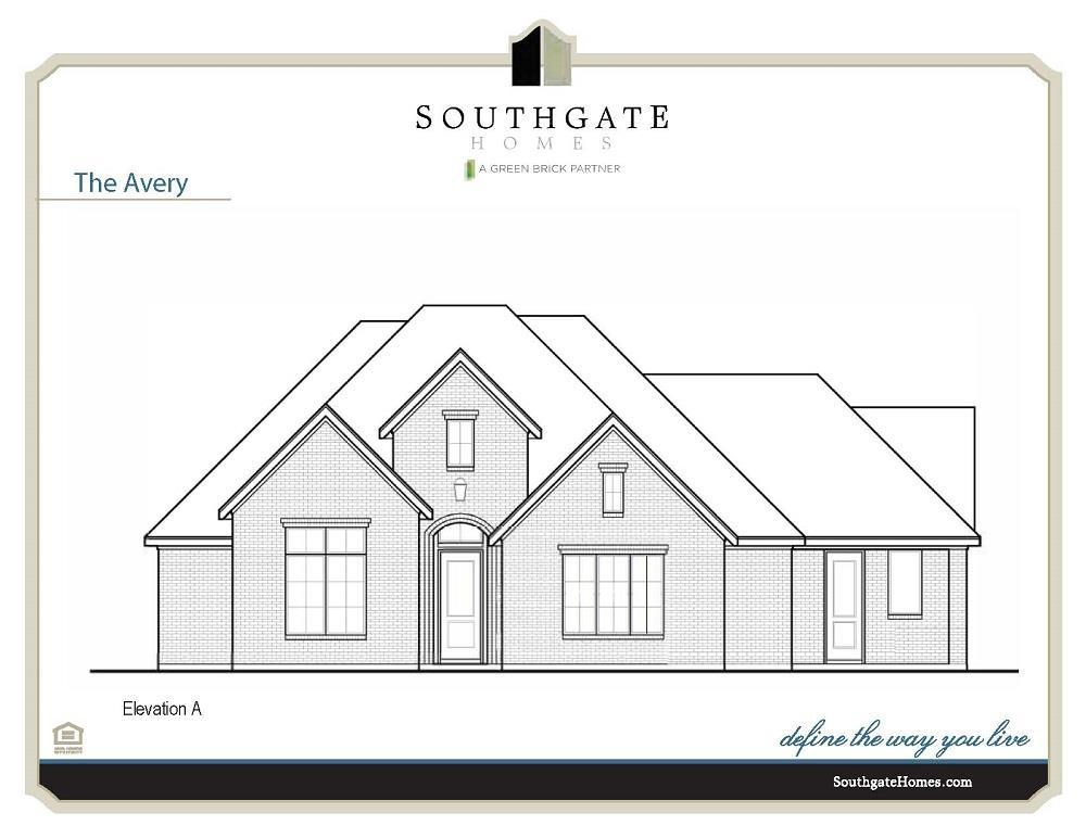 Single Family for Active at Brockdale Estates - The Avery 410 Lakeshore Blvd Lucas, Texas 75002 United States