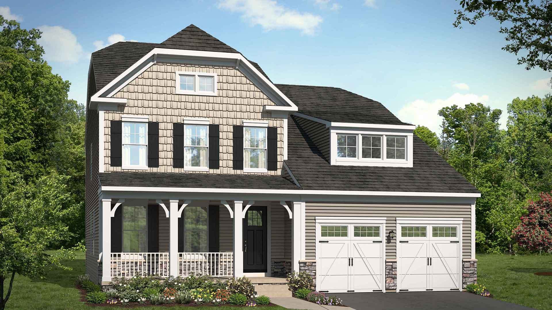 Single Family for Active at Bradley Square - Lawrence 8920 Englewood Farms Drive Manassas, Virginia 20112 United States