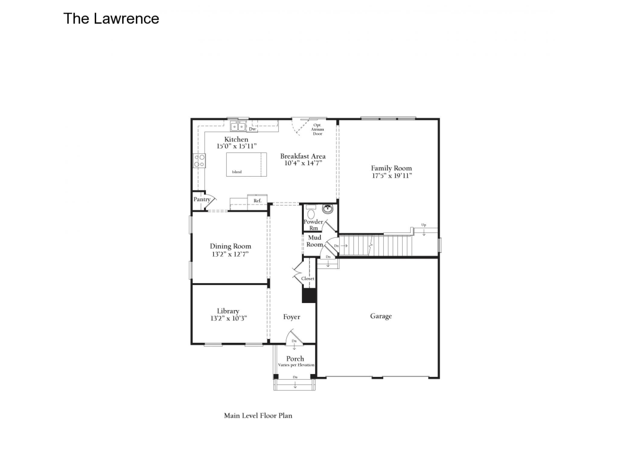 Old dominion homes floor plans for City house plans
