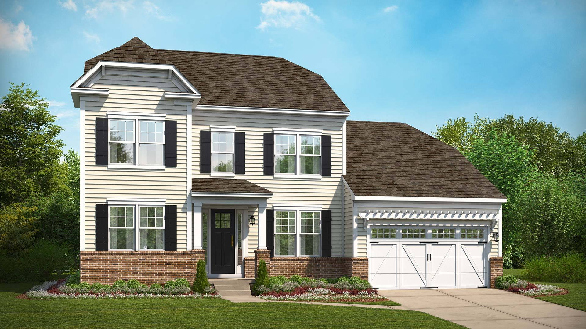 Stanley martin homes wildewood toliver 1361329 for Modern homes for sale in maryland
