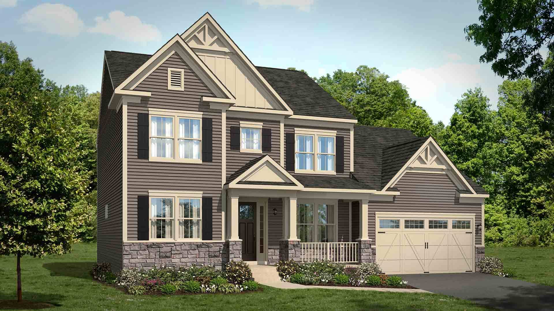 Single Family for Sale at Old Trail - The Travis Birchwood Hill Road Crozet, Virginia 22932 United States