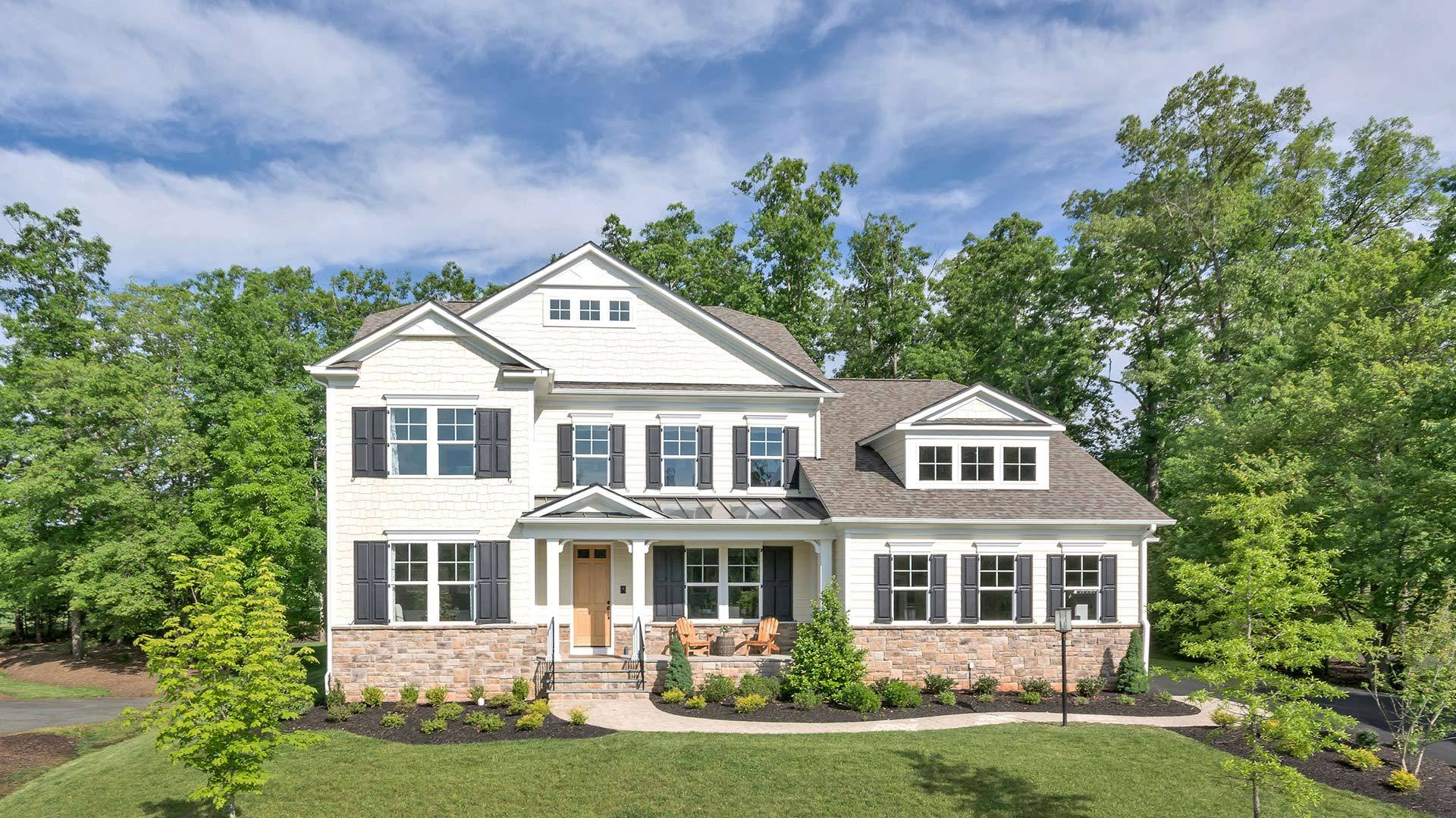 Single Family for Sale at Old Trail - The Morgan Birchwood Hill Road Crozet, Virginia 22932 United States