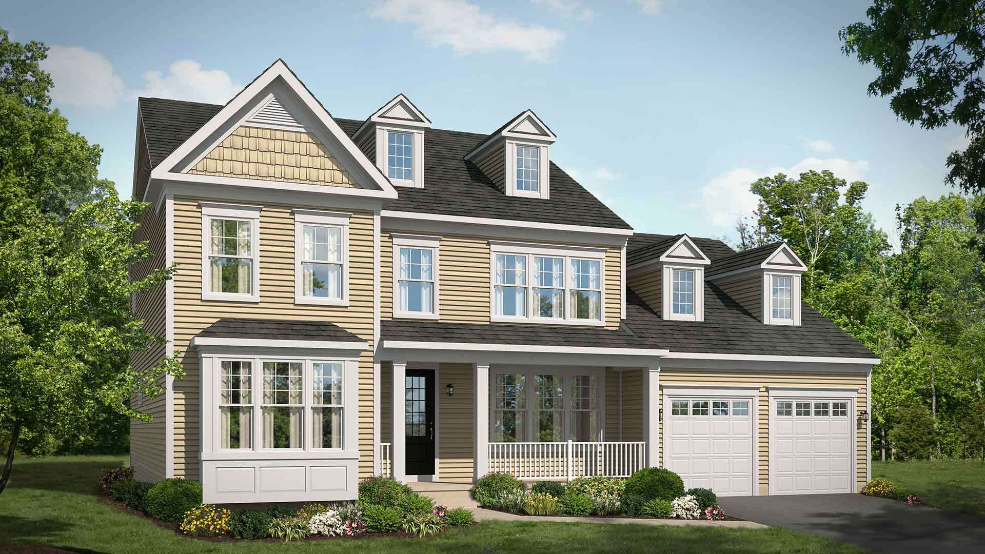 Stanley martin homes ethan 39 s meadow morgan ii 1361418 for Modern homes raleigh durham