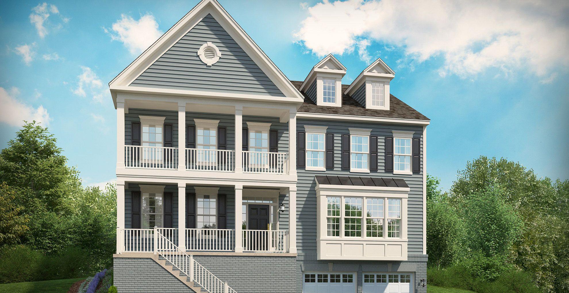 Stanley martin homes windsor hill the kearney 1363393 for Modern homes for sale in virginia