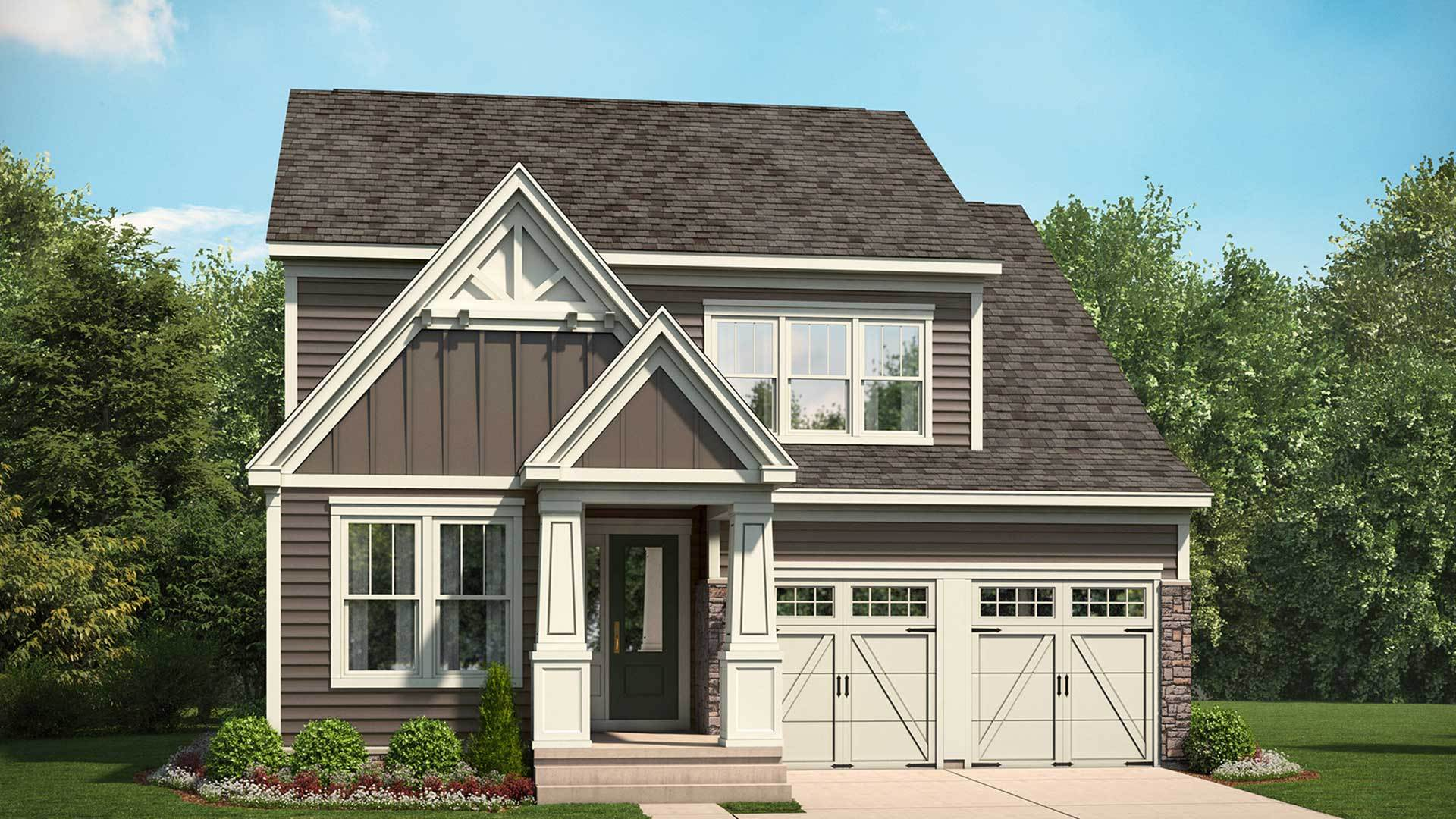 Stanley martin homes belvedere the waverly 1361355 for Modern homes for sale in virginia