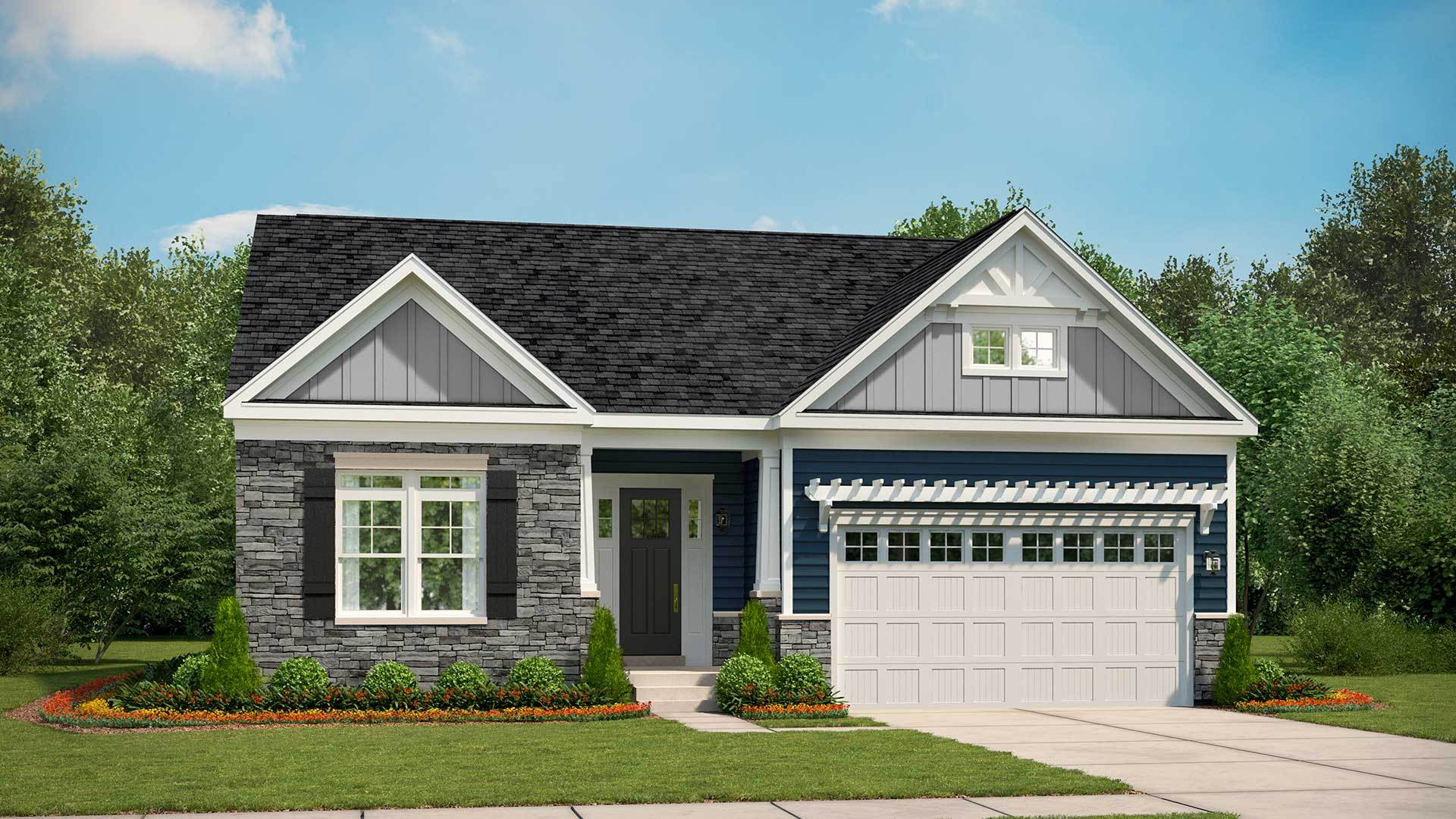 Woodhall New Homes In Apex Nc By Stanley Martin Homes