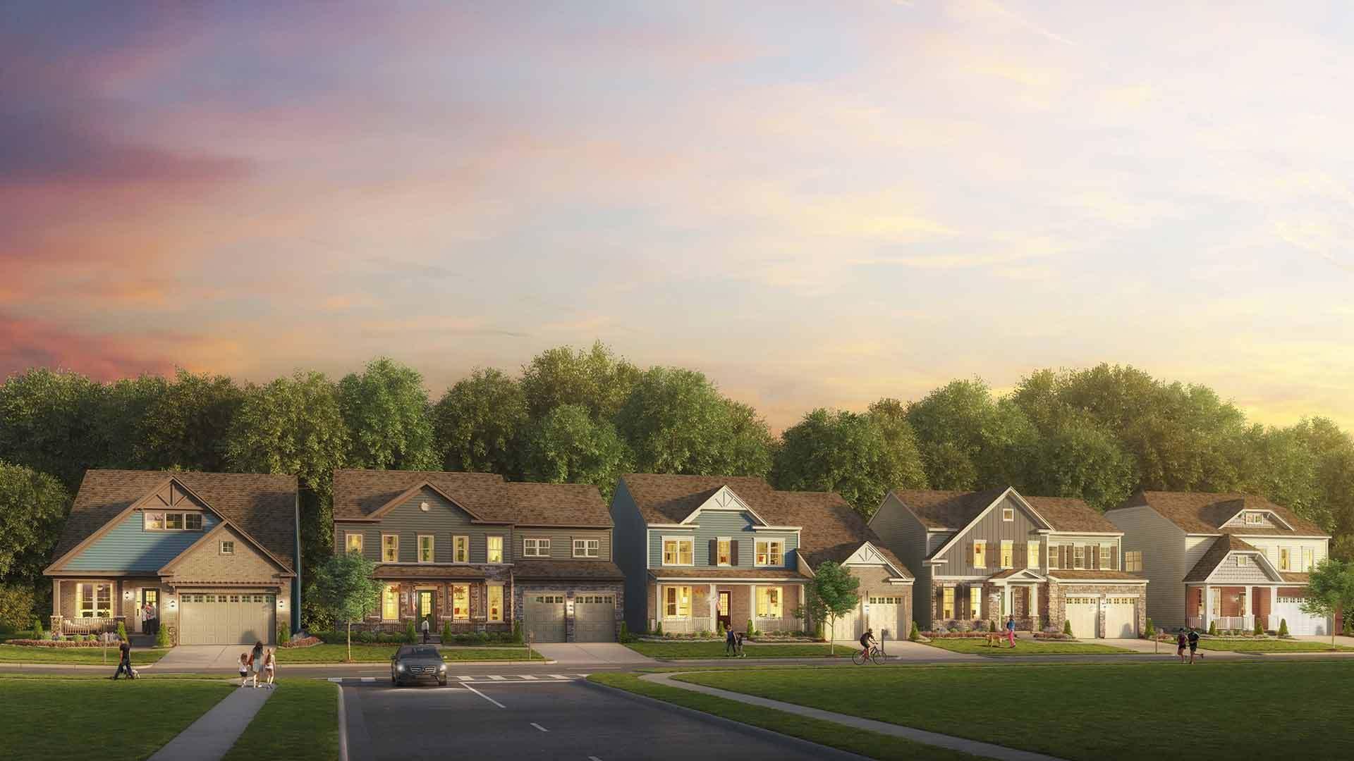 单亲家庭 为 销售 在 Randall 1128 White Clover Lane Odenton, Maryland 21113 United States