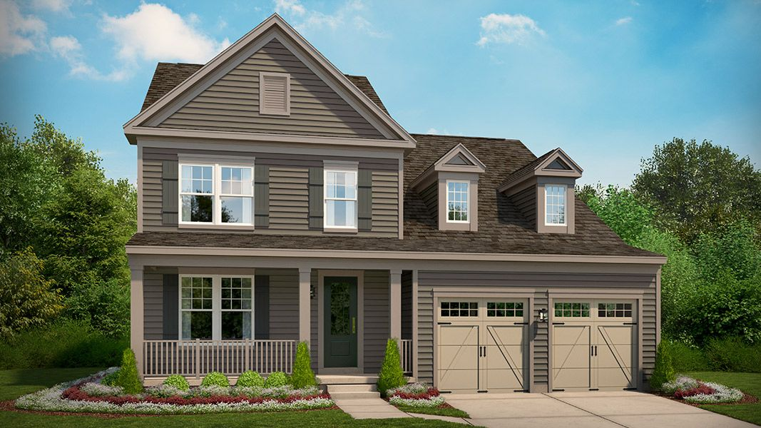 Single Family for Active at Bradley Square - Estella 8920 Englewood Farms Drive Manassas, Virginia 20112 United States