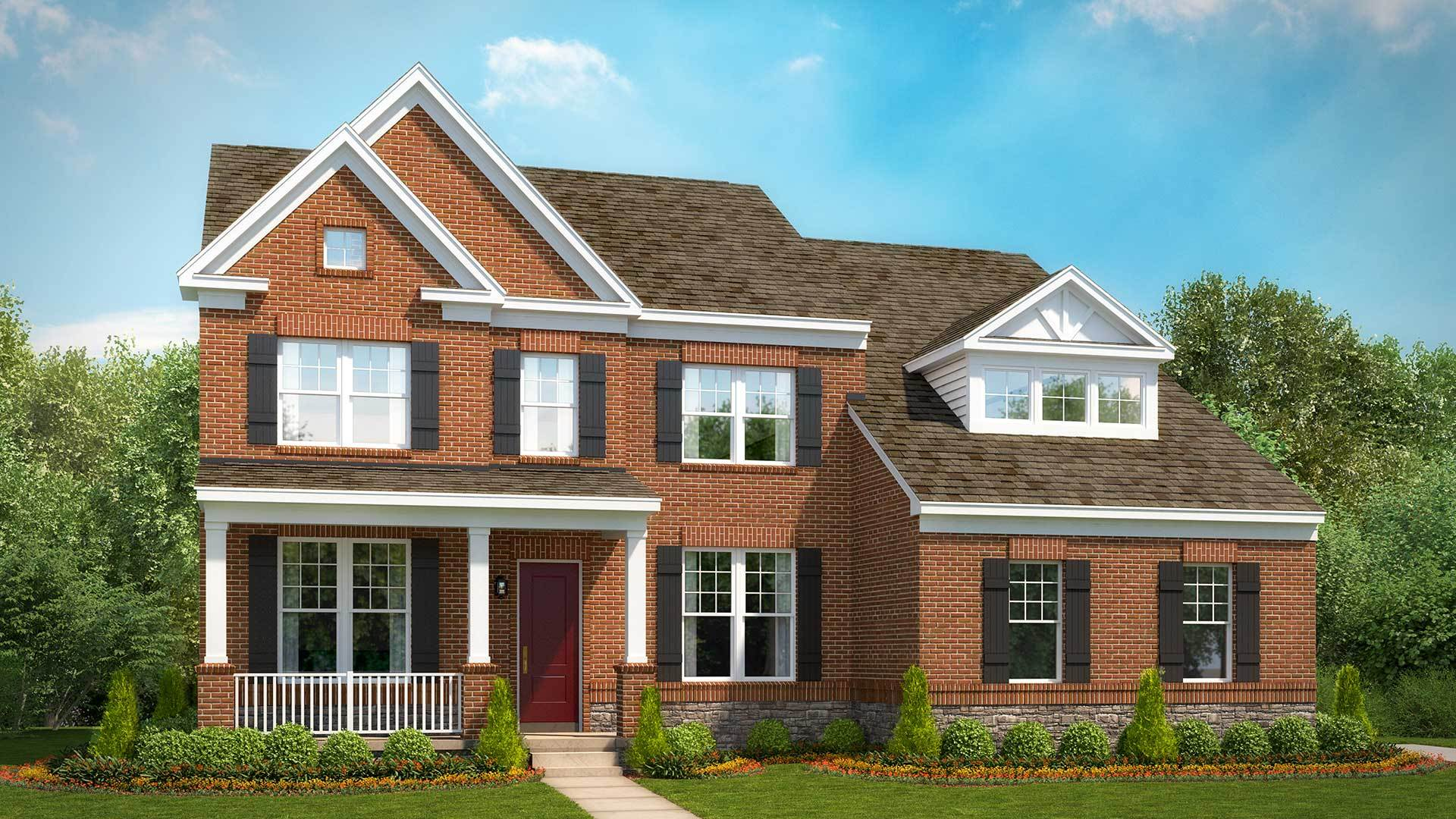 Single Family for Active at Greenwood Farm - Taylor 3651 Greenwood Farm Dr. Haymarket, Virginia 20169 United States