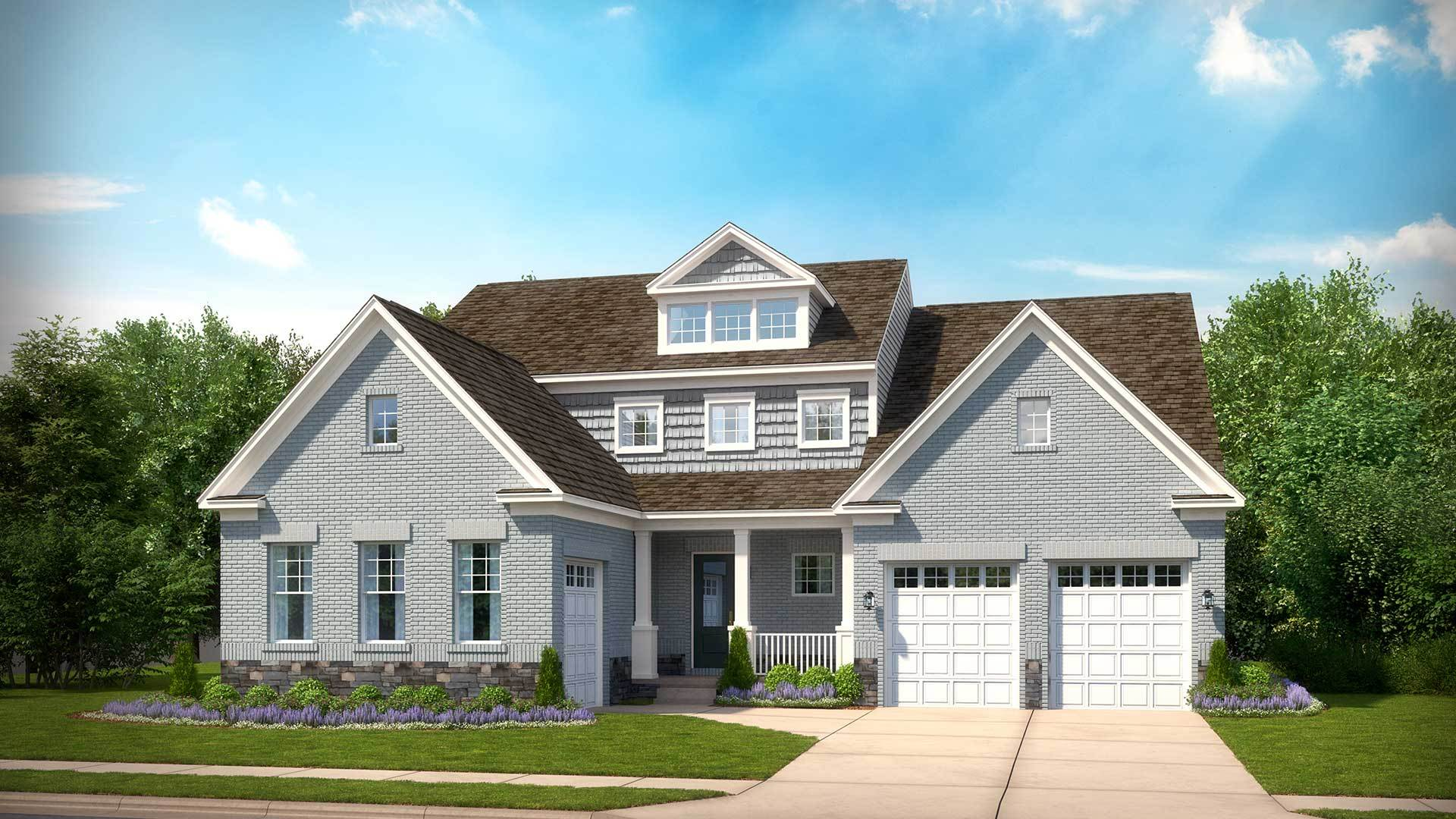 Single Family for Active at Summerhouse Landing - Russell 11858 Boscobel Court Herndon, Virginia 20170 United States