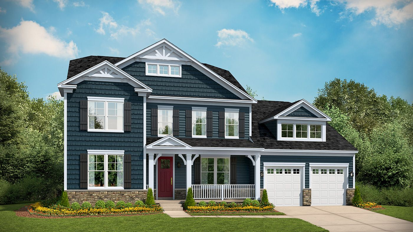 Single Family for Active at Westlake At Foothill Crossing - Morgan 5931 Westhall Drive Crozet, Virginia 22932 United States