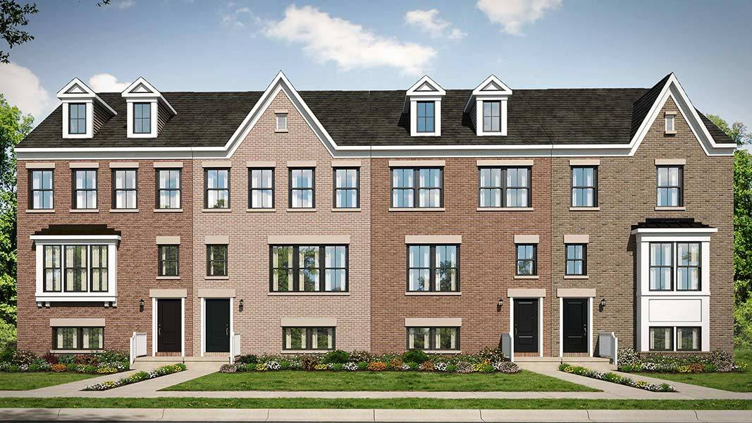 Multi Family for Active at Ambrose Hills - Gibson 3741 Signal Knob Court Falls Church, Virginia 22041 United States