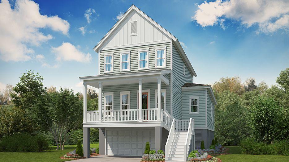 Single Family for Sale at Stonoview - Moreland 2627 Battle Trail Drive Johns Island, South Carolina 29455 United States