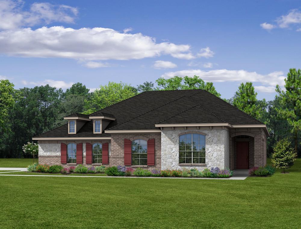 Single Family for Sale at Ralston Creek - E-2205 2308 Ralston Creek Court Brenham, Texas 77833 United States