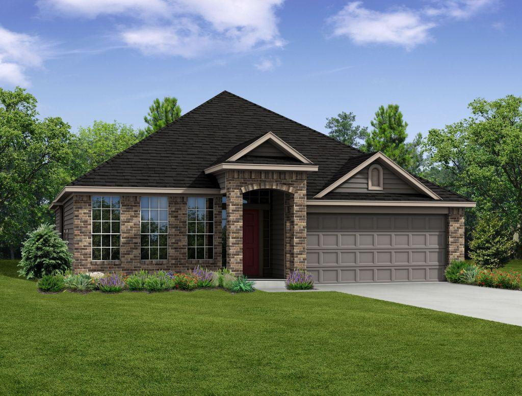 Stylecraft builders south fork s 2516 1082916 waco tx for New construction ranch style homes in illinois