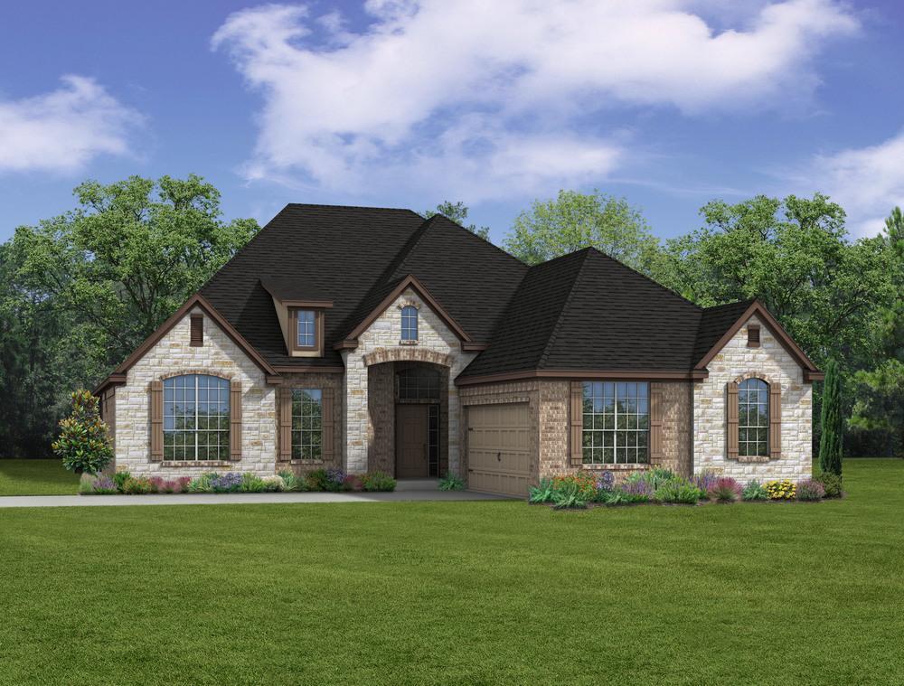 Single Family for Sale at Ralston Creek - E-2350 2308 Ralston Creek Brenham, Texas 77833 United States
