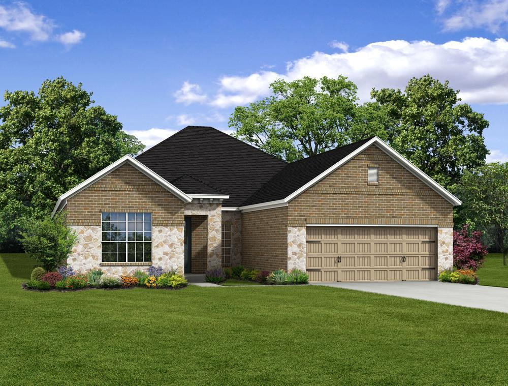 Single Family for Sale at Ralston Creek - E-2478 2308 Ralston Creek Brenham, Texas 77833 United States