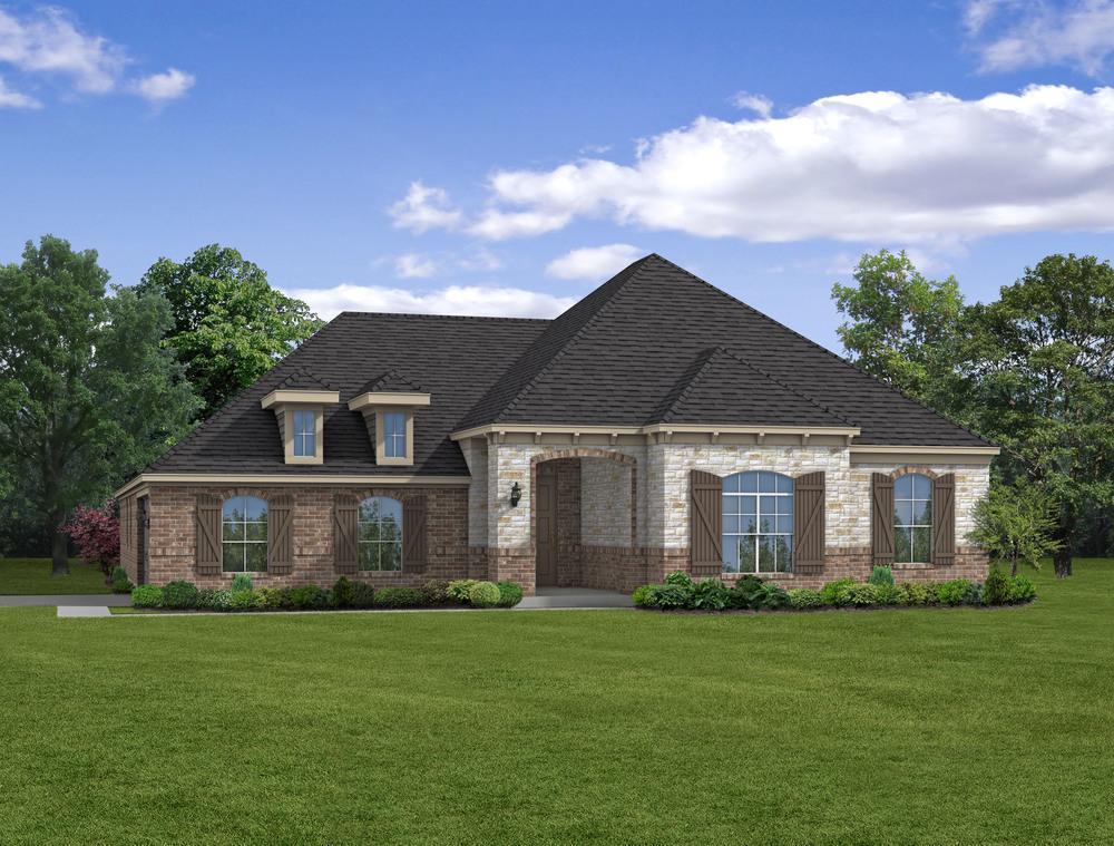 Single Family for Sale at Ralston Creek - E-2706 2308 Ralston Creek Brenham, Texas 77833 United States