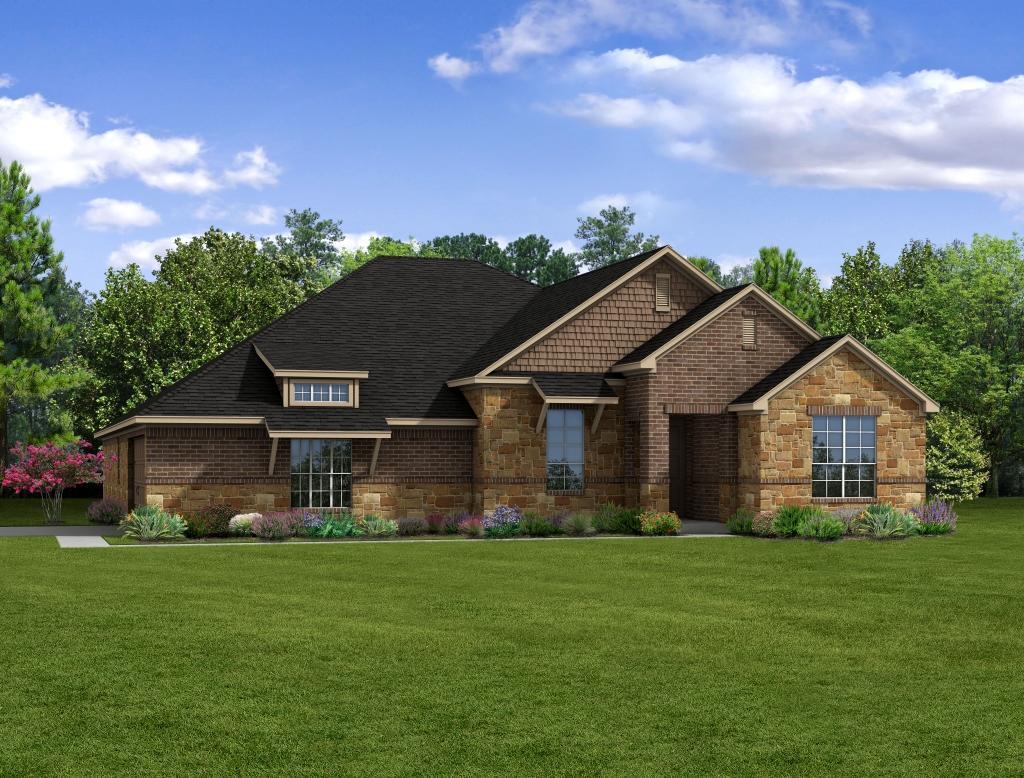 Single Family for Sale at Ralston Creek - E-2483 2308 Ralston Creek Brenham, Texas 77833 United States