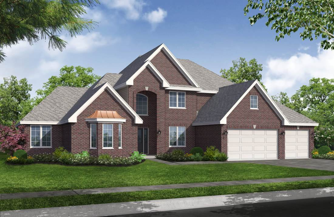 Single Family for Active at Rose Garden - Lorraine 9512 91st Place St. John, Indiana 46373 United States