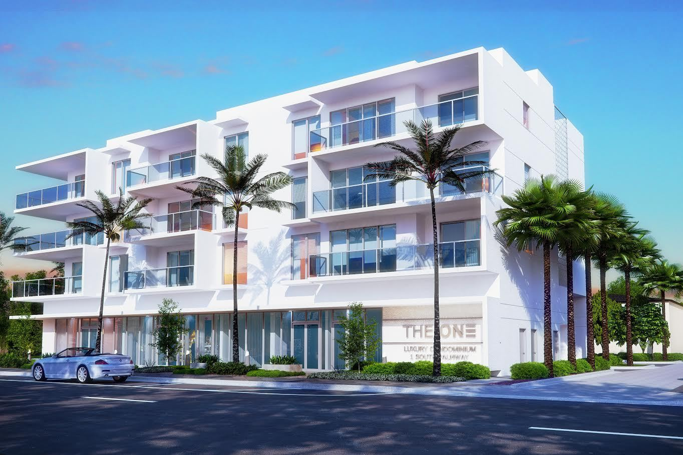 Multi Familie für Verkauf beim The One - Unit 3e - Azure / 2 Bedroom 2 Bathroom 117 Lake Avenue Lake Worth, Florida 33460 United States
