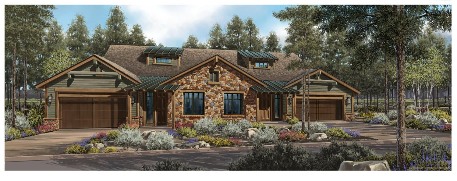 Single Family for Sale at Pine Canyon - Residence A 1201 E. John Wesley Powell Blvd. Flagstaff, Arizona 86005 United States