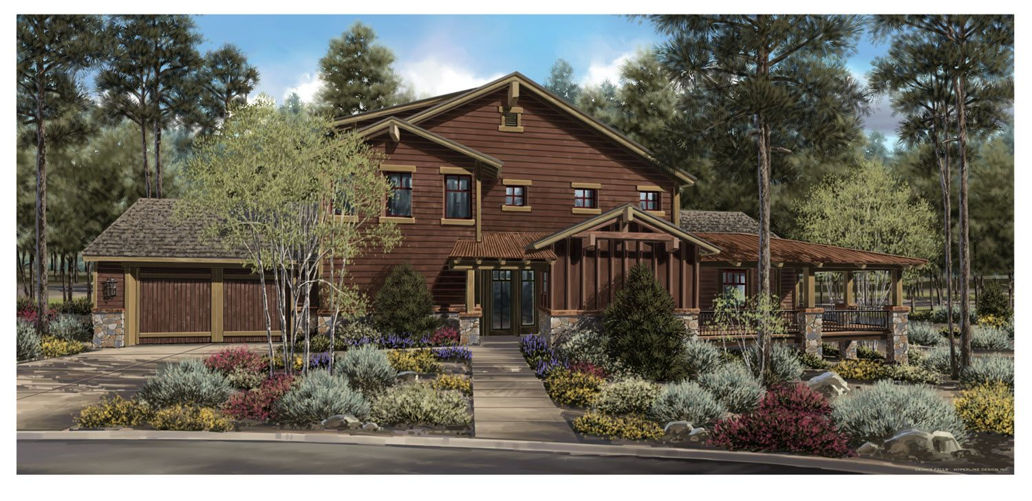 Single Family for Sale at Pine Canyon - Residence B2 1201 E. John Wesley Powell Blvd. Flagstaff, Arizona 86005 United States