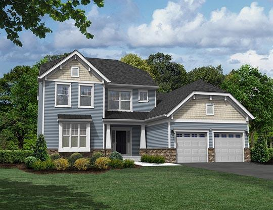 Single Family for Active at Stonegate At Braeburn - Andover 46 Stoneham Road Ewing, New Jersey 08638 United States