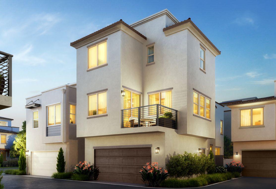 Single Family for Active at Cerise - Residence 3 916 E. Santa Ana St. Anaheim, California 92805 United States